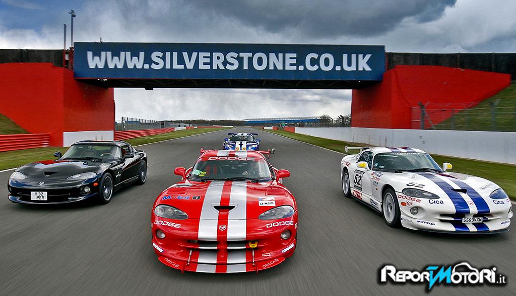 A Silverstone un raduno record di Viper