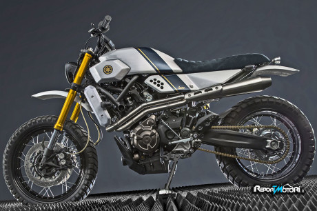 Nuova Yamaha Yard Built XSR 700 by Bunker Custom Motorcycles
