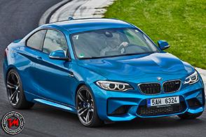 Nuova BMW M2 Coupé: la nostra prova sul circuito dell'Hungaroring