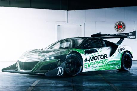 Honda NSX-Inspired EV Concept
