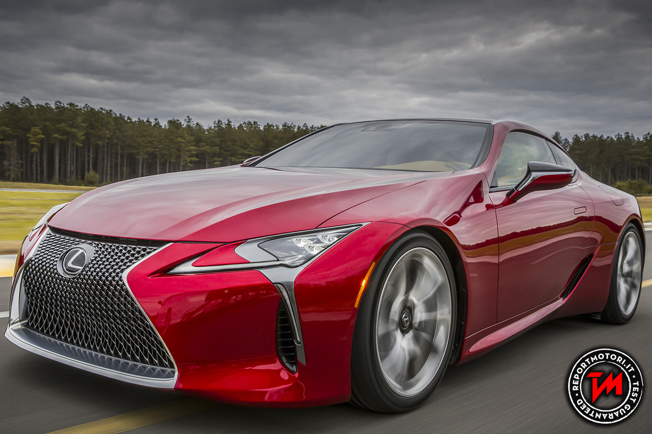 Lexus LC al Goodwood Festival of Speed