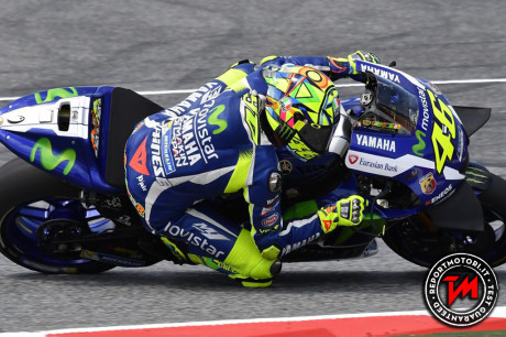 Valentino Rossi - Test Catalunya 2016