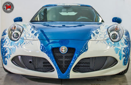 Alfa romeo 4c hokusai by garage italia customs for Garage alfa romeo luxembourg