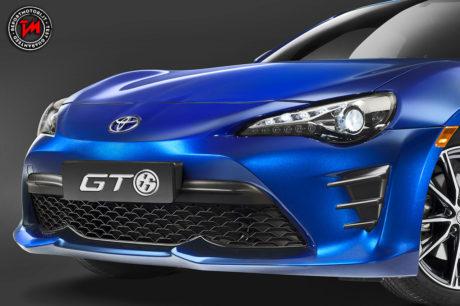 La nuova Toyota GT86 si rinnova nel design e nella tecnologia