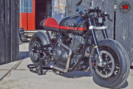 Yamaha Yard Built XV950 Son of Time