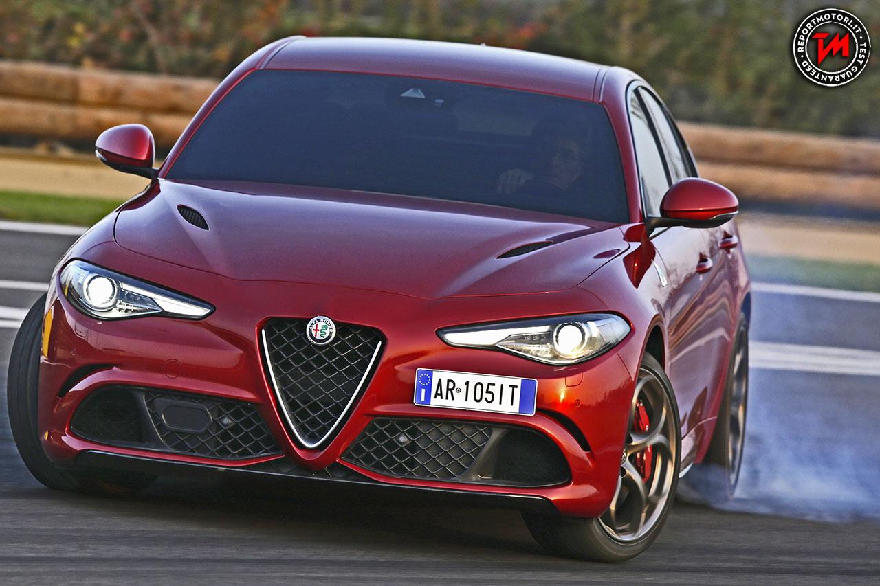 Alfa Romeo Giulia Veloce, tanti cavalli e trazione integrale