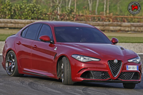 Alfa Romeo Giulia Quadrifoglio cambio automatico