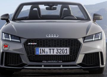 Audi TT RS Roadster: potenza a cielo aperto