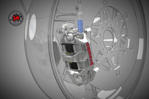 Impianto frenante Brembo - Misano - MotoGP 2016