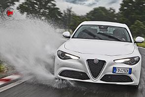 Bridgestone Potenza S001 su Alfa Romeo Giulia