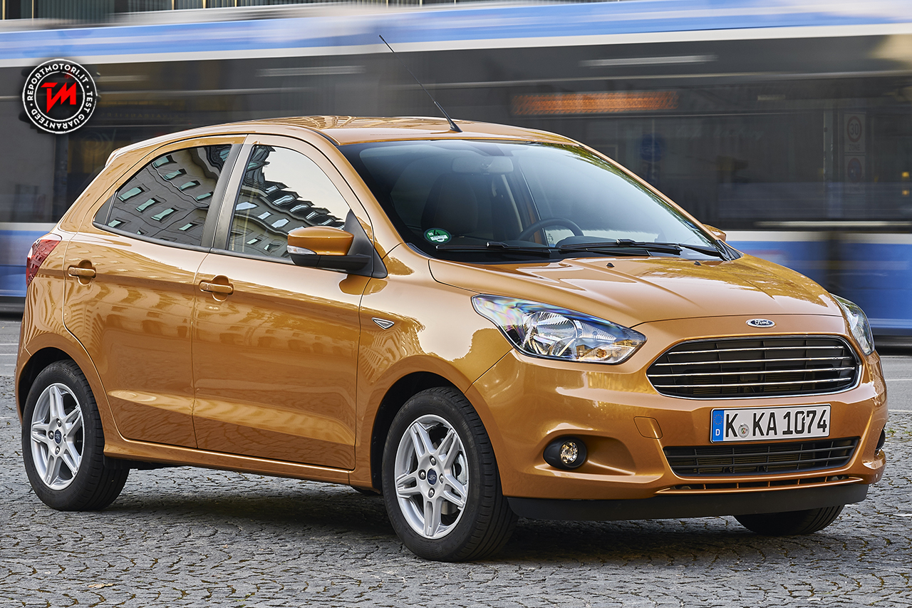 Nuova ford ka una hatchback a 5 porte ideale per la citt for Bodbyn ka che