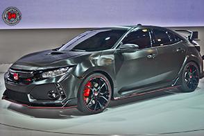 Al Salone di Tokyo debutta il prototipo della nuova Honda Civic Type R
