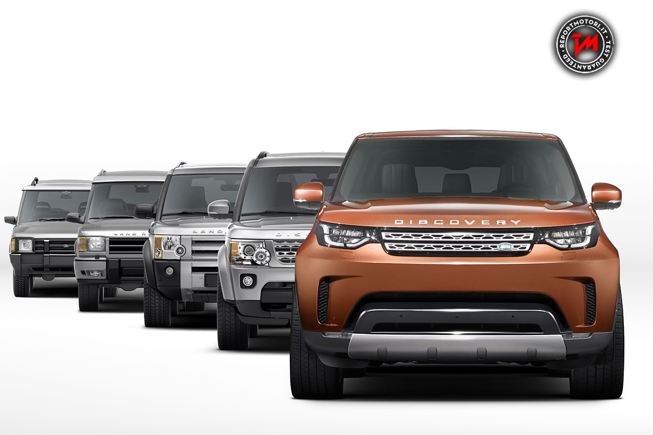 Land Rover: arriva la Nuova Discovery