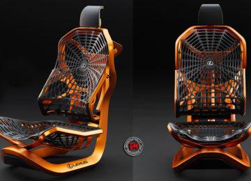 Lexus Kinetic Seat Concept: il sedile rivoluzionario