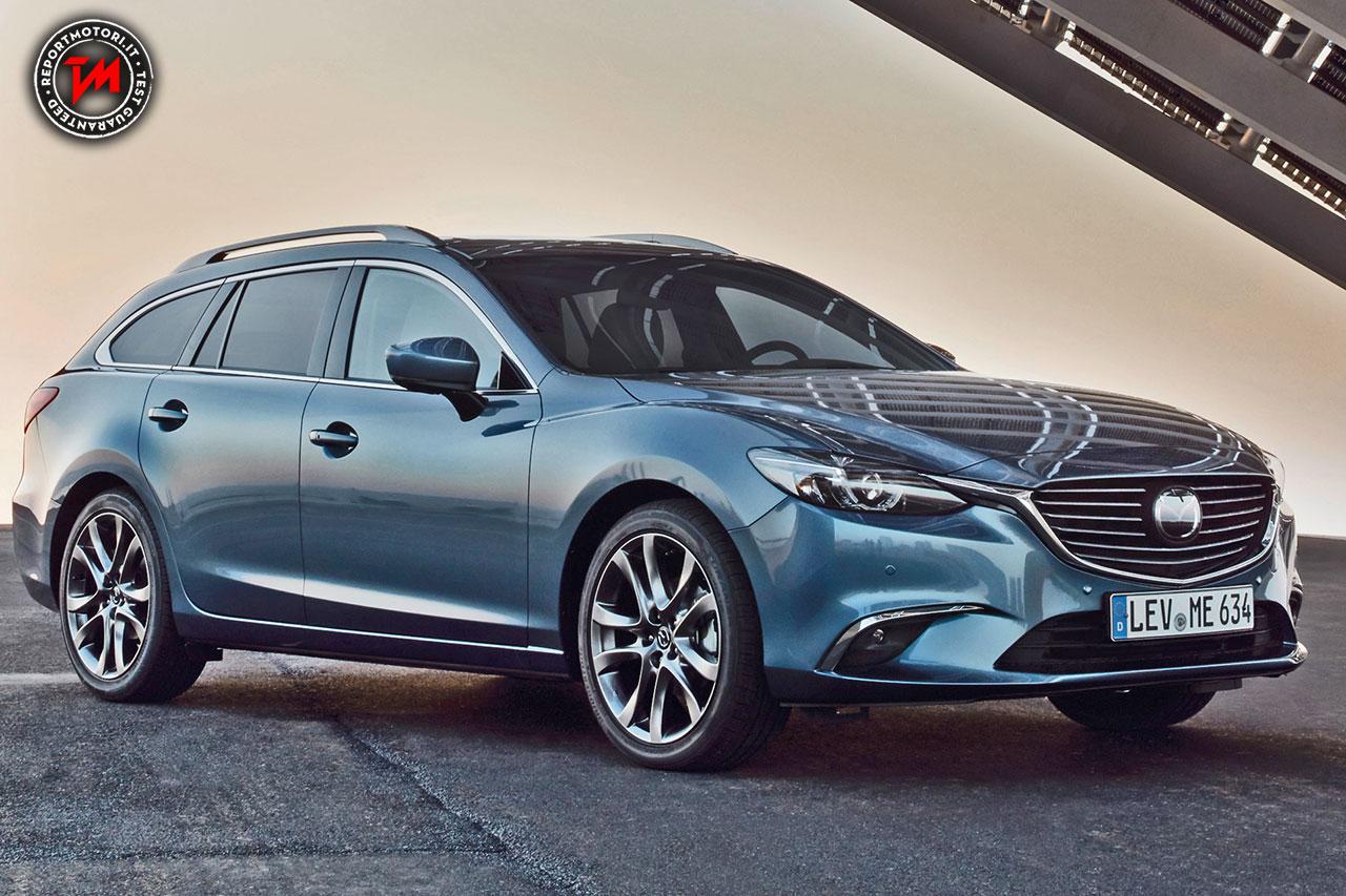 Novità auto: Mazda 6 2017: arriva il G-Vectoring Control