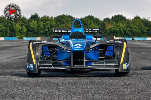 Nuova livrea per la Renault Z.E.16