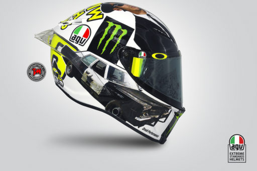 Valentino Rossi - Casco Misano 2016