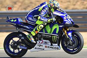 Un Valentino Rossi da podio ad Aragon