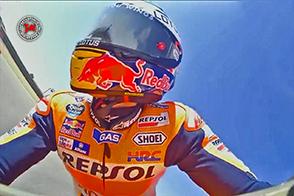 Marc Marquez vince ad Aragon al termine di una gara superlativa