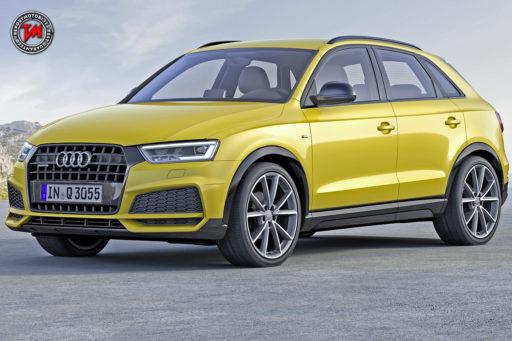 Nuova Audi Q3 Black Edition