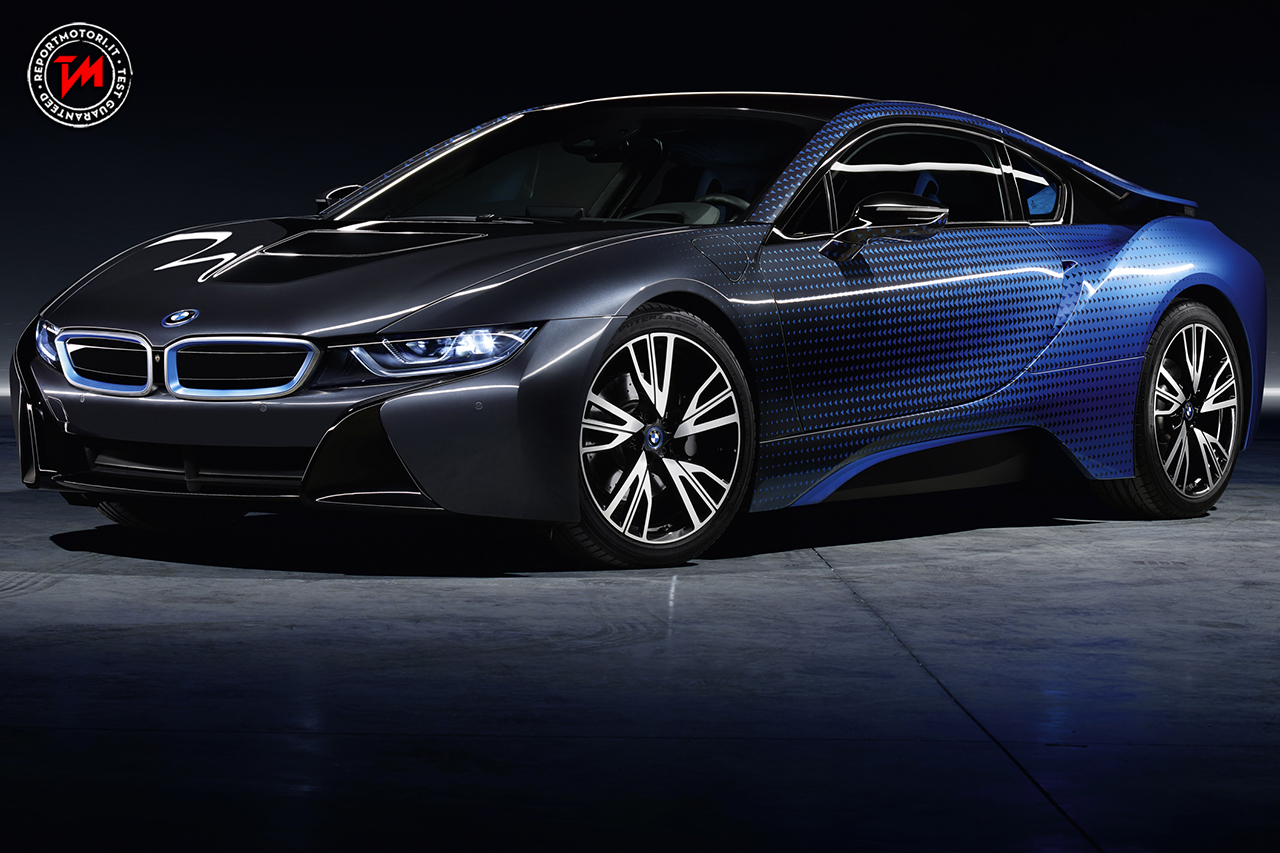Bmw i8 garage italia crossfade un mix di energia e futurismo for Garage bmw en france