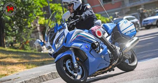 La Polizia Stradale di Milano con le nuove Yamaha FJR1300