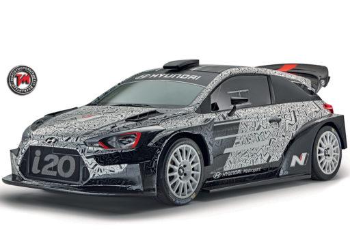 Nuova Hyundai i20 WRC