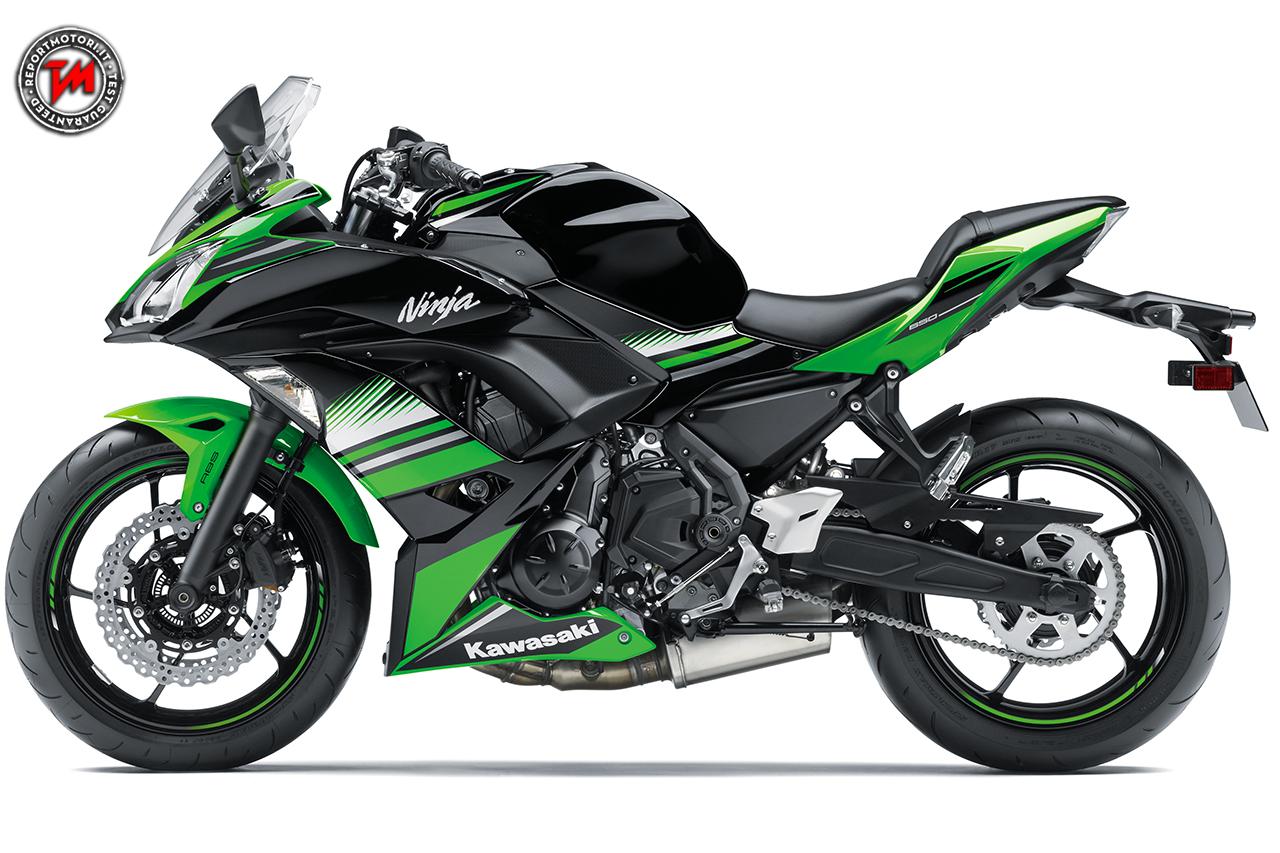 Kawasaki Ninja 650  Una Supersport Che Punta Sulla Leggerezza