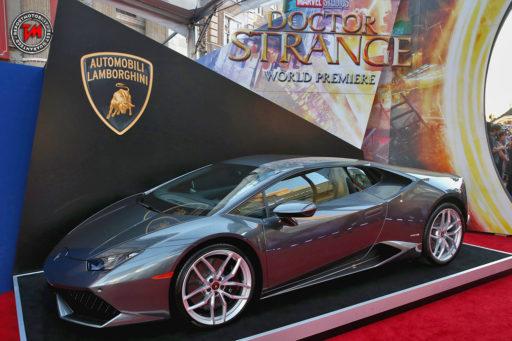Lamborghini Huracan in Doctor Strange