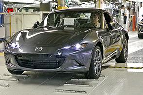 Inizia la produzione della Mazda MX-5 RF