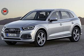 Nuova Audi Q5 : potenza della trazione Quattro