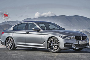 Nuova BMW Serie 5: leggerezza dell'alluminio
