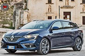 Nuova Renault Megane Sporter: eleganza e sportività