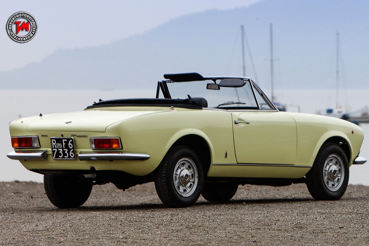 fiat 124 sport spider del 1966 nasce una leggenda dell automobilismo. Black Bedroom Furniture Sets. Home Design Ideas
