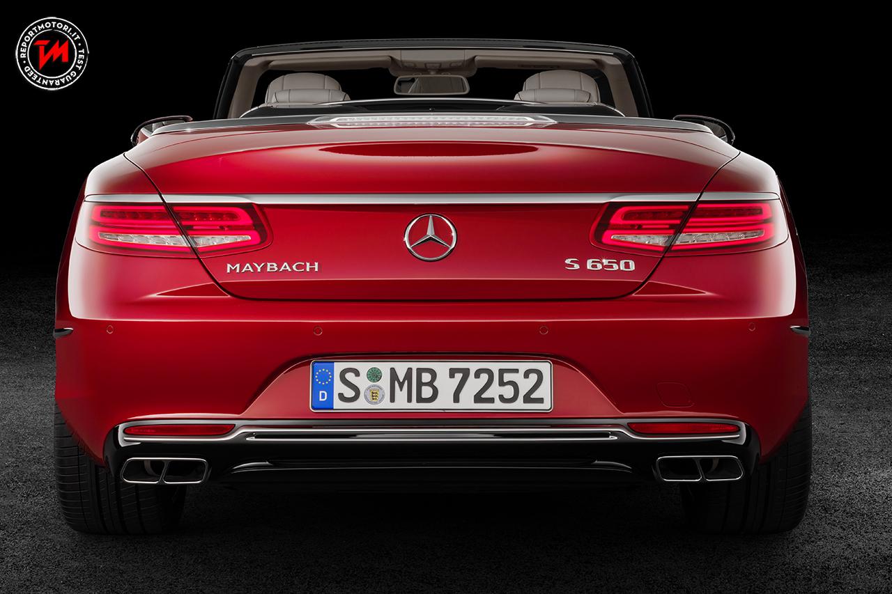 Mercedes maybach s 650 cabriolet lusso sfrenato e motore v12 for Mercedes benz maybach cabriolet