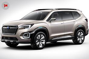 Subaru VIZIV-7 : un concept che anticipa un SUV del futuro