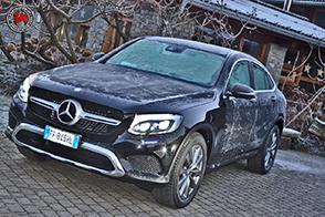 Mercedes-Benz GLC Coupé con pneumatici Michelin: un SUV sportivo a prova di ghiaccio