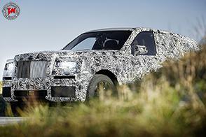 Rolls-Royce Cullinan : lo sviluppo del SUV extra-lusso, continua…