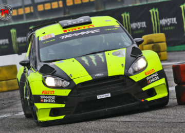 Al Monza Rally Show vittoria di Valentino Rossi