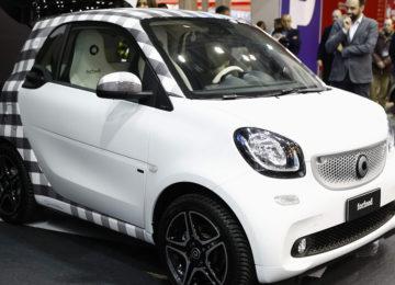 smart forfood : al Motor Show di Bologna una show car