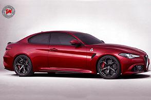 Alfa Romeo Giulia Coupé : pronta alla sfida con le tedesche