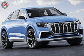 Tecnologia laser e digitale per la nuova Audi Q8 concept
