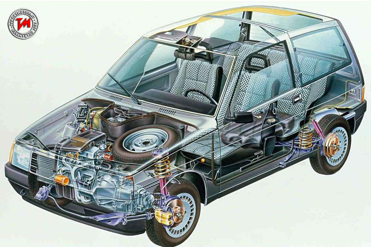 Autobianchi Y10 : l'utilitaria di lusso nata negli anni 80 ...