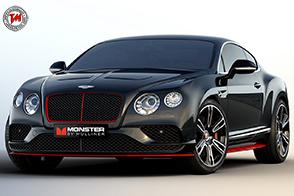 Monster by Mulliner : una Special su base Bentley Continental GT V8 S