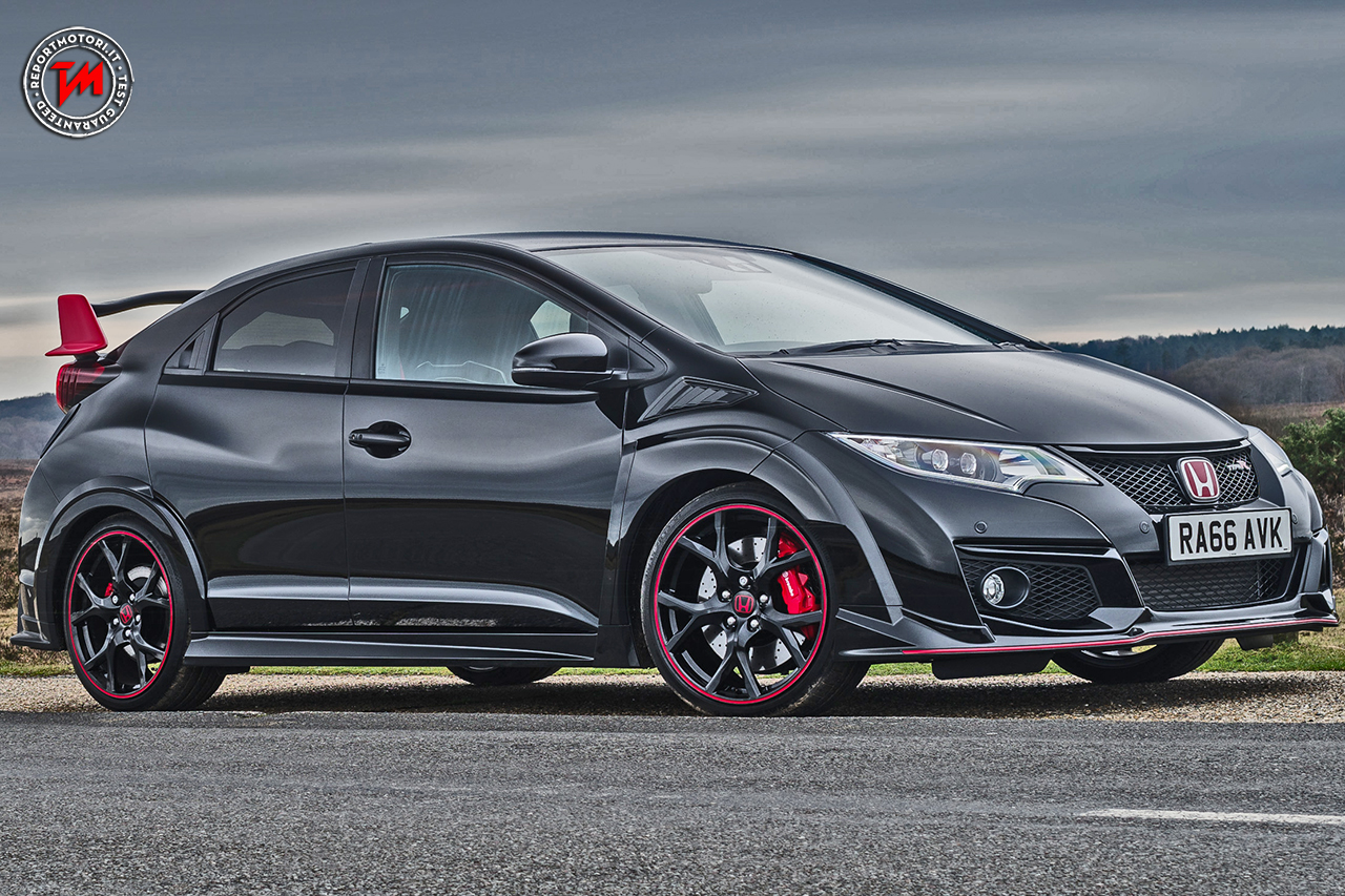 Honda civic type r black edition 100 esemplari da collezione for All black honda civic