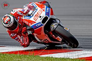 Jorge Lorenzo, la Ducati Desmosedici GP e… l'America!