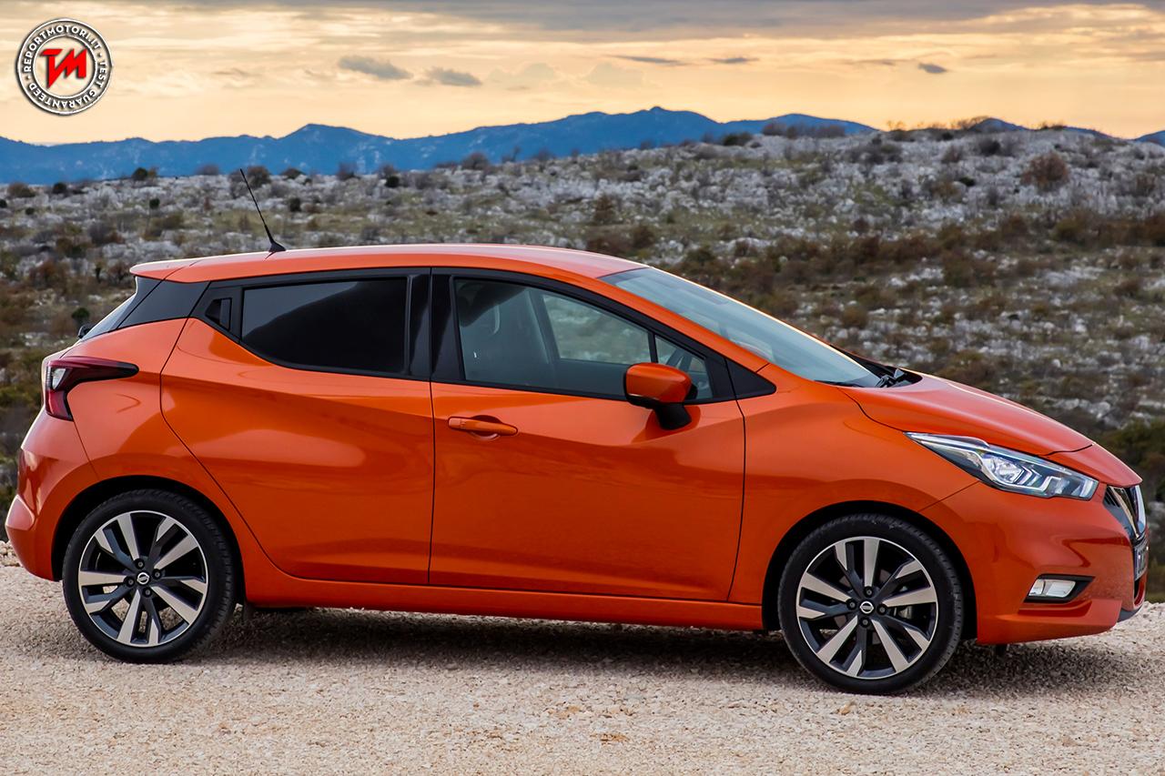 Nuova Nissan Micra 2017: evoluzione della specie