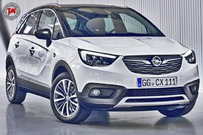Propulsori in alluminio per il nuovo Opel Crossland X