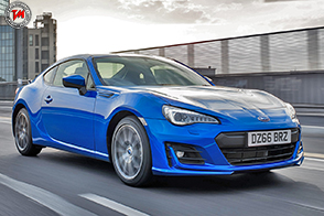 La nuova Subaru BRZ all'Autosport International Show