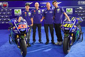 MotoGP 2017 : presentato il Team Yamaha Factory Racing